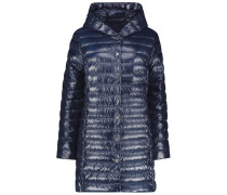 Longline quilted jacket