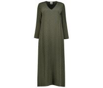 Silk blend midi dress