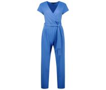 Vibrant blue overalls