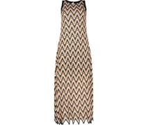 Maxi irregular hemline dress
