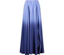 Gradient love pepper a-line skirt