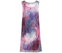 Color splash silk dress