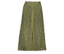 High waist tassel midi skirt