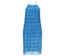 Vibrant fringe party dress