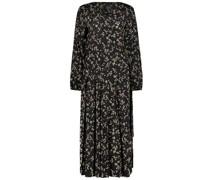 Floral maxi shift dress