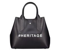Typographic hashtag handbag