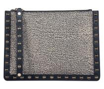 Texture studded clutch