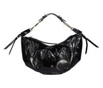 Raven textured shoulder bag