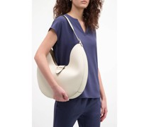 Neutral chic hobo handbag