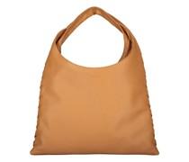 Camel square hobo hand bag