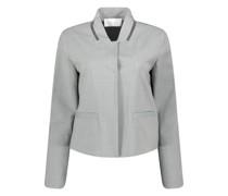 Minimal detailing woolen jacket