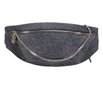 Textured oversized waist bag