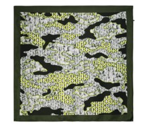 Eclectic oriental pattern scarf