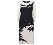 Monochrome straight-fit dress
