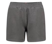 Jersey jogger shorts