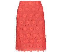 3D floral lace skirt