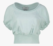 French Terry gathered top