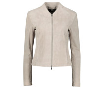 Solid slim-fit jacket
