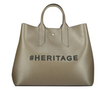 Typography textured tote bag