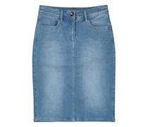 Classic washed denim skirt