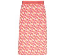 Seamless bird pattern skirt