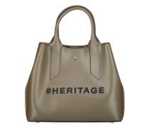 Olive heritage tote bag
