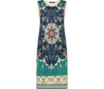 Ornate floral shift dress
