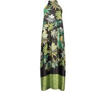 Maxi floral halter dress