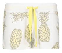Pineapple printed shorts