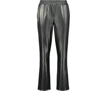 Elasticated leather Hose