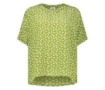 Locker geschnittene Bluse mit Muster