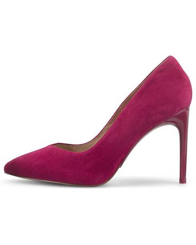 Velours-High-Heels