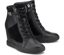Hi-Top Sneaker-Wedges