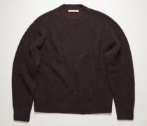 Navy/brown Melange sweater