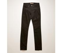 Max Stay Black Black / Black Low-rise slim jeans