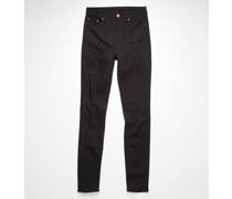 Peg Blk Skinny fit jeans