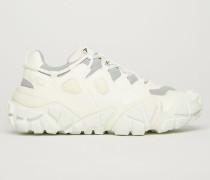 Blozter W Weiß/Weiß Technische Sneakers