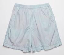 Powder blue/lilac Tie dye shorts