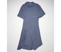 Crinkled crepe dress