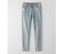 North Marble Wash Jeans in enger Passform
