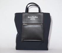 Black/Black Medium tote bag