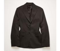 Cinched waist suit jacket