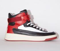 Babila Mix W Black/red/white High top sneakers