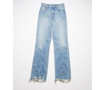 1990 Thigh Patch Bootcut fit jeans