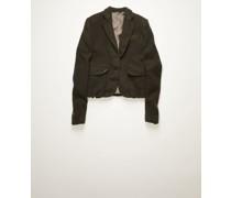 Boiled-wool suit jacket