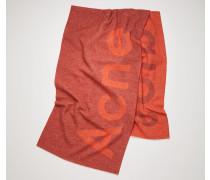 Toronty Logo Ingwer-Orange/Orange Jacquard-Schal mit Logo