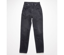 1995 Washed Out Black Rigid Slim fit jeans