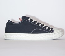 Ballow Tumbled W Black/off white Canvas sneakers