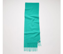 Pilled wool scarf