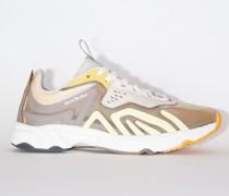 N3W W Beige/beige/orange Lace-up sneakers